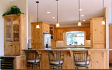 Knotty Alder Kitchen Design